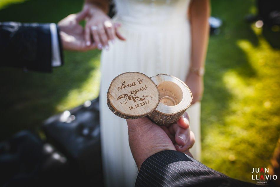 detalle de boda o fotos de boda para recordar en Gijón y Asturias