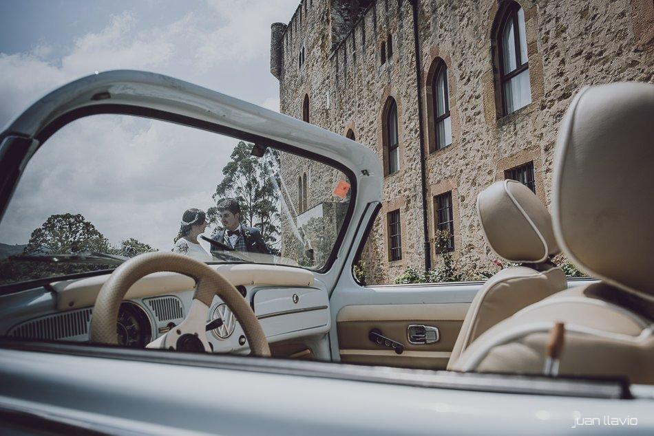 coches especiales para bodas en Asturias