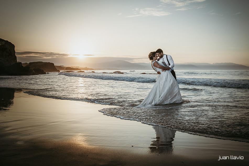 Fotógrafo de bodas en Asturias y Galicia. Juan Llavio