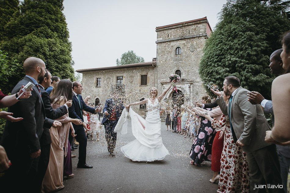 Boda en Asturias en el Palacio de Villabona
