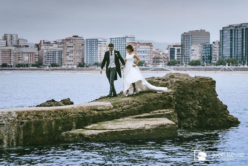 Bodas en Gijón: Casarse junto al mar.