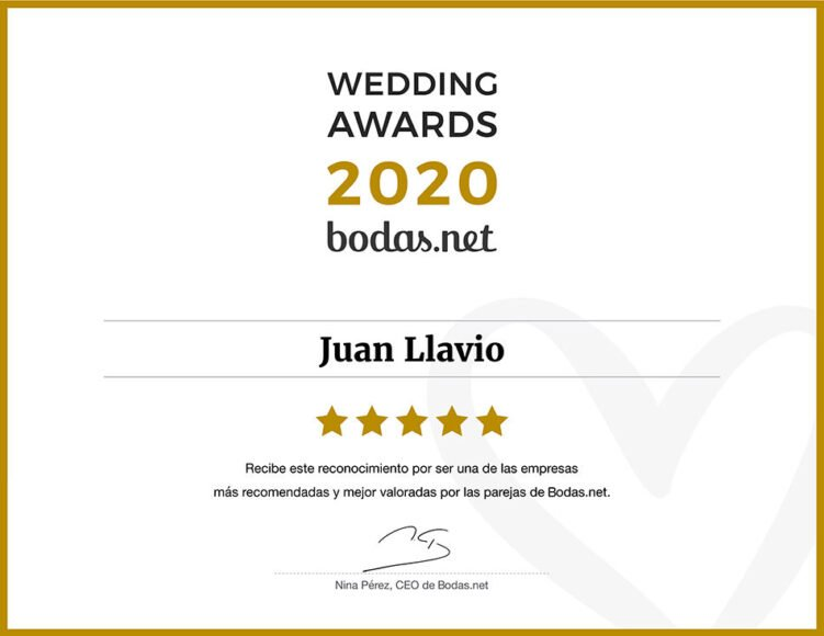 Premios Wedding Awards by bodas.net