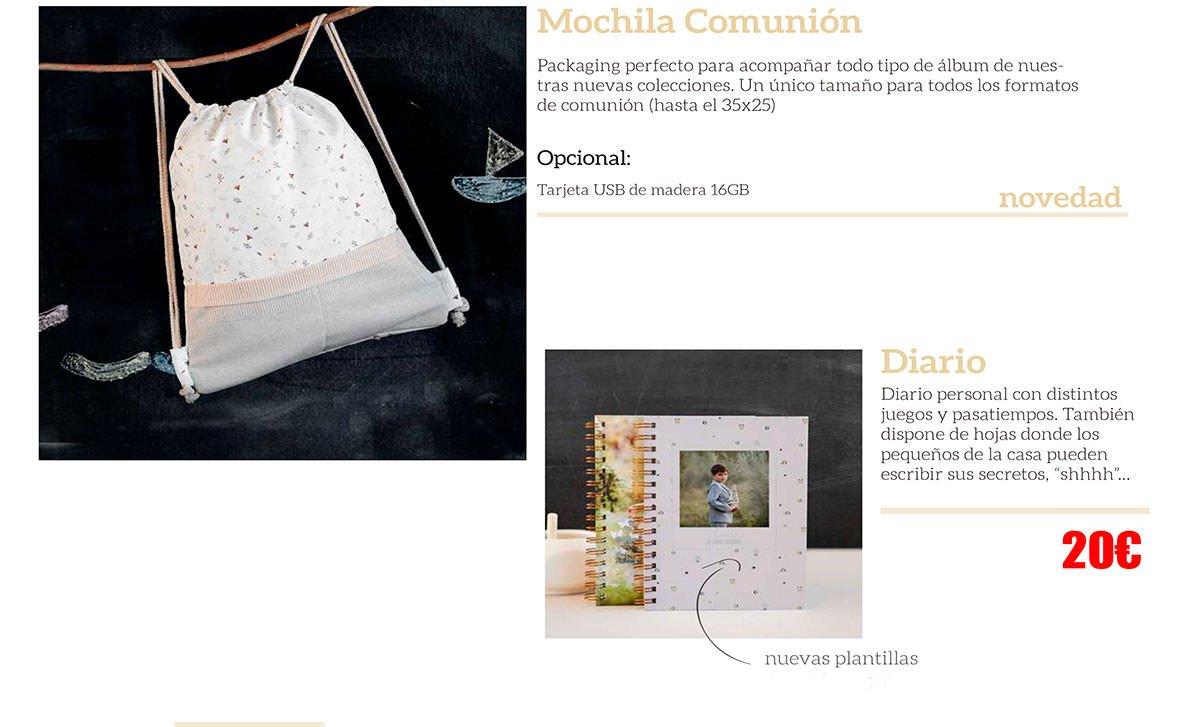 Álbumes de Comuniones en Asturias.